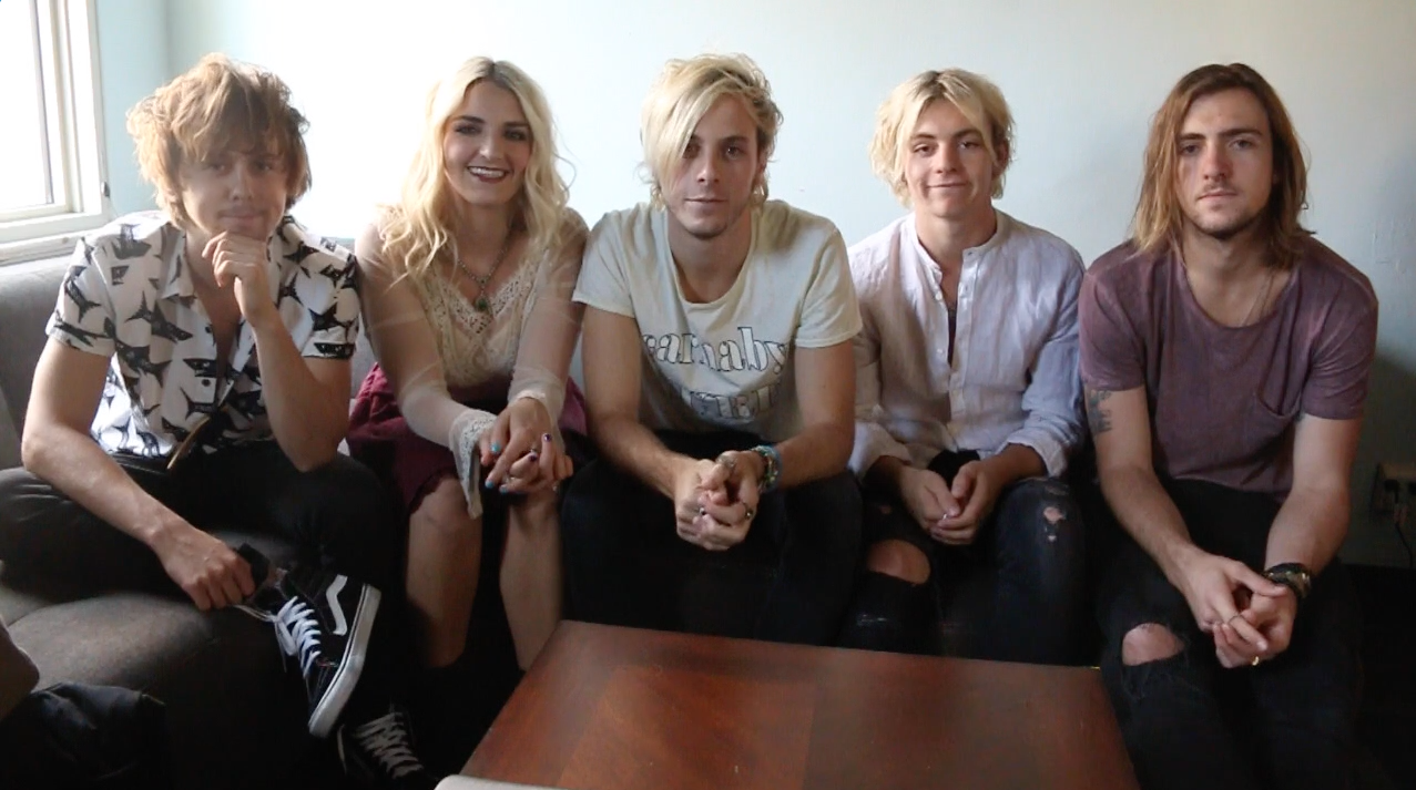 Win a chance to play hacky sack backstage with r5 kristyandbryce Images