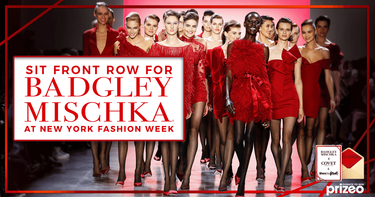 Sit Front Row For Badgley Mischka At New York Fashion Week