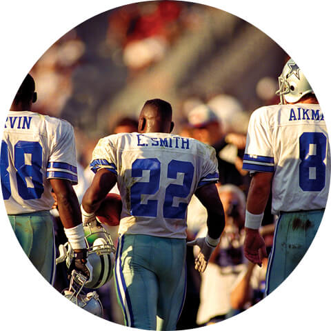 "Win a Night Out with the Legendary Dallas Cowboys ""Triplets"" Troy Aikman, Michael Irvin & Emmitt Smith"