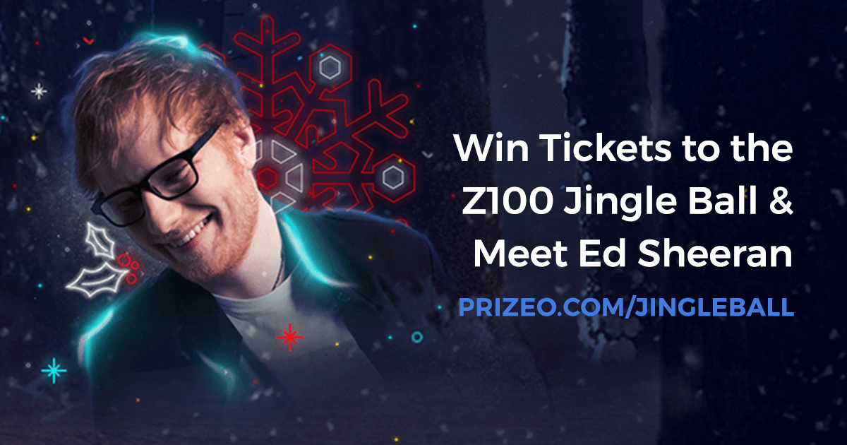 Win a trip to nyc to party at z100s jingle ball and meet ed sheeran win a trip to nyc to party at z100s jingle ball and meet ed sheeran m4hsunfo