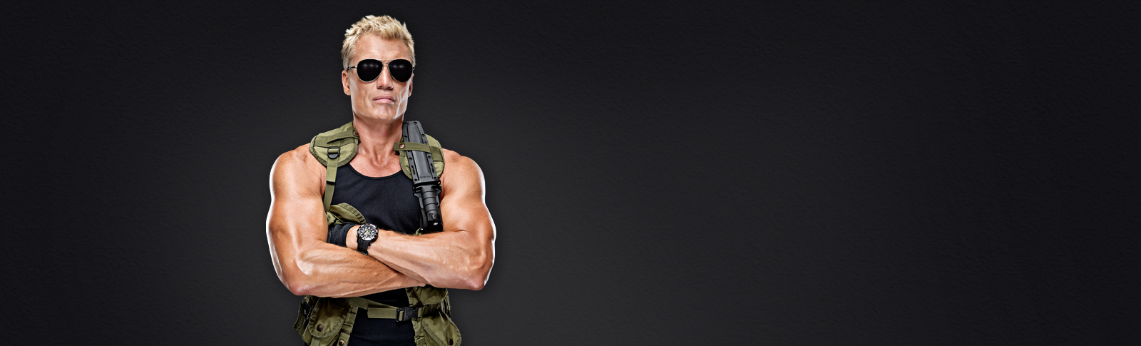 Win a Trip to be an Action Movie Star with Dolph Lundgren