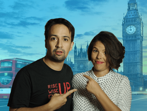 Win a Trip to London for the Opening Night of HAMILTON with Lin-Manuel Miranda