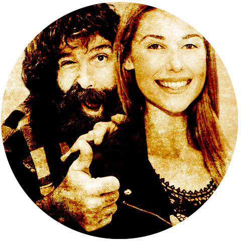 Win Meet Mick Foley & Noelle Foley and get floor seats to WrestleMania