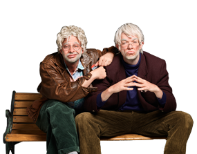 Win a Comedy-filled Night on Broadway at Oh, Hello and Lunch with Nick Kroll and John Mulaney