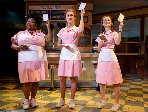 Win Make your Broadway debut onstage in the hit musical WAITRESS